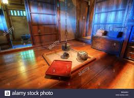 traditional japanese house kitchen stock photo royalty free