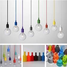 Light Bulb Pendant Muuto Pendent Light Multicolour Silica Gel L Holder Pendant
