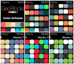 geoblocks is a simple appealing game on the apple watch watchaware