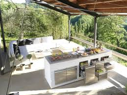 outdoor kitchen island step out to enjoy the modern outdoor kitchens