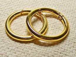 large metal rings images Large 1 1 2 quot carabiner rings for miche bags 3 metal colors buy 4 jpg