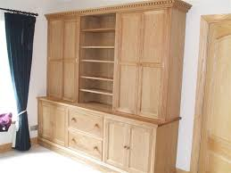 Oak Bookcases With Glass Doors Gallery