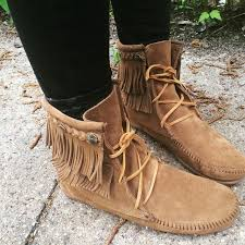 womens size 12 fringe boots fringe trer boot moccasins size 12 and clothes