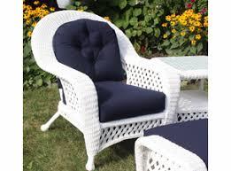 Wicker Loveseat Replacement Cushions Wicker Furniture U0026 Lloyd Flanders Replacement Cushions