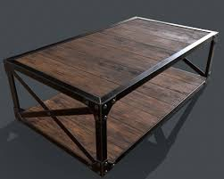 industrial style coffee table factory cart coffee table antique