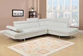 canap droit 6 places canapé d angle design blanc 6 places angle droit amazon fr