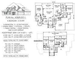 5 bedroom 4 bathroom house plans house plans with no dining room 5 bedroom house plans 2 story 2