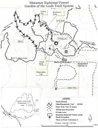 Shawnee Map Of The Gods Map