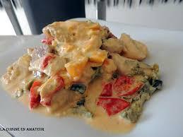 3 recette cuisine recette d emincé de poulet chorizo aux 3 poivrons et courgettes