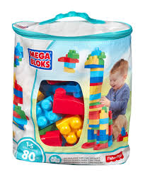 Kitchen Set Toys For Boys Mega Bloks First Builders 80 Piece Big Building Bag Classic