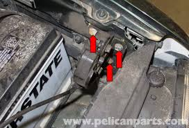 2003 Volvo Xc90 Wiring Diagram Volvo V70 Hood Release Cable And Latch Replacement 1998 2007