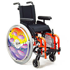 standard self propelled wheelchairs