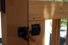 deck gate latch deck design and ideas