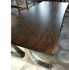 solid maple dining table maple dining table solid maple dining table on hairpin legs