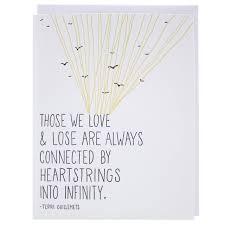 sympathy card heartstrings quote sympathy card sympathy cards smudge ink