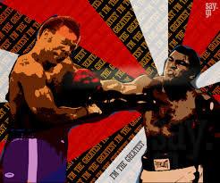 punch muhammad ali vs foreman by thesaygi on deviantart