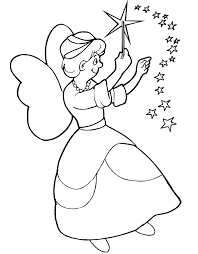 fairy tale coloring sheets tales pages kids printable fairy tales