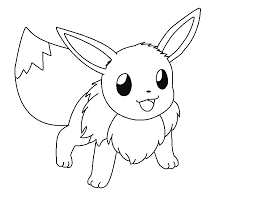 pokemon coloring pages eevee evolutions trends coloring pokemon