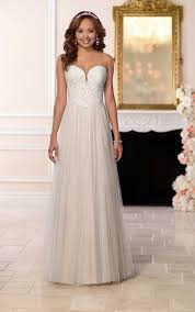 affordable wedding affordable wedding dress with tulle stella york wedding gowns