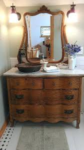 dressers for makeup vanities antique dresser into bathroom vanity dresser into