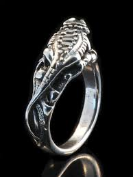 dragon jewelry rings images Bearded dragon lizard ring silver marty magic store jpg