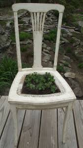 231 best chair planters images on pinterest garden chairs chair