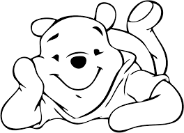 coloring activity featuring popular character winnie pooh