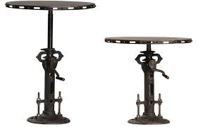 Pedestal Bar Table with Charming Pedestal Bistro Table Shop Houzz Hammary Hidden Treasures
