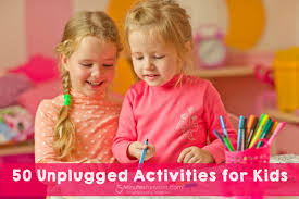 children activities 50 unplugged activities for kids 5 minutes for mom