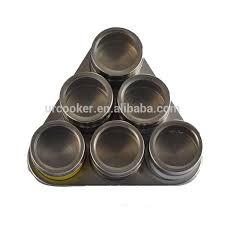 portaspezie magnetico magnetico spezie in acciaio inox cremagliera porcellana utensile