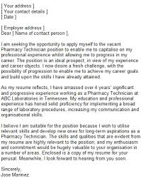 writing a cover letter for work experience