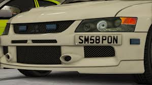 mitsubishi evolution 9 police mitsubishi evolution 9 pack marked u0026 unmarked gta5
