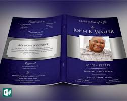 Templates For Funeral Program 35 Funeral Program Templates Free U0026 Premium Templates