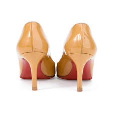 second hand christian louboutin simple patent pumps the fifth