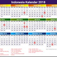 Kalender 2018 Hari Raya Idul Fitri Indonesia Kalender 2018 Kelender 2018