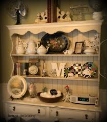 Kitchen Hutch Ideas Forever Decorating Winter Hutch 109