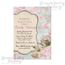 tea party bridal shower invitations bridal shower invitations bridal shower tea party invitations