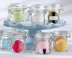 wedding favor jars personalized glass favor jars wedding set of 12