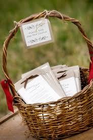 wedding program basket wedding programs wedding ideas wedding