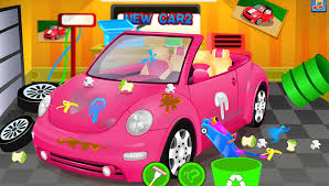 barbie red cars super car wash android apps on google play