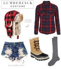 lumberjack costume easy last minute costumes