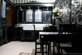 Black Kitchen Cabinets Design Ideas Black Kitchen Cabinets
