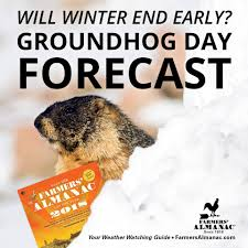 friday is groundhog day but there s no farmers almanac