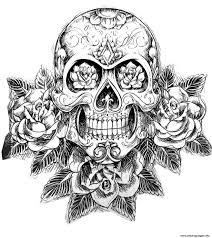 cool sugar skull coloring pages sugar skull coloring pages image 5