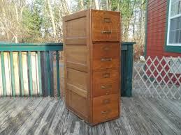 Vintage Oak Filing Cabinet Antique Oak Filing Cabinet Soldantique C 1910 Wagemaker 4 Drw