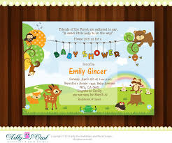 Baby Woodland Animals Baby Shower - baby shower invitations incredible woodland baby shower