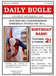 the basham family spider man birthday party