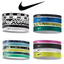 sport headbands nike swoosh sport headbands assorted 4 pk unisex ebay