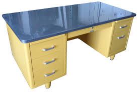 Steelcase Computer Desk Steelcase Vintage Steel Tanker Desk Vintage Desk Stainless