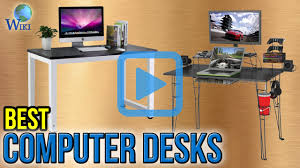 computer in glass desk top 10 computer desks of 2017 video review